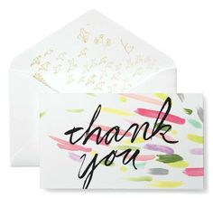 Give thanks! 5 great thank-you cards | Dreamwedding