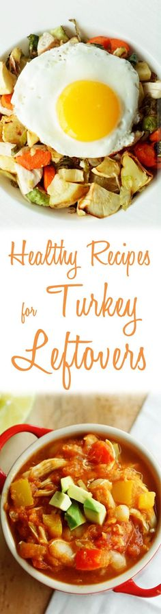 Check out these 3 healthy & delicious recipes that will take your turkey leftovers, and turn them into something exciting!