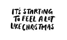 Font ..... it's starting to feel a lot like christmas