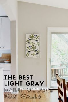 This blog post give recommendations on the best light gray paint colors for walls and helps you to understand their undertones. #interiordesign #graypaintcolors Light Grey Paint Colors, Light Grey Walls, Wall Paint Colors, Bedroom Paint Colors, Paint Colors For Home, Living Room Colors, Living Room Grey, House Colors, Paint Walls