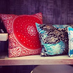 Cushions by Franko & Co.