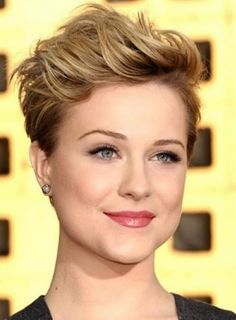 nice Short Hairstyles for Square Faces 2015 Very Short