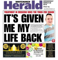 'Given me my life back': A Whitchurch man on his stem-cell treatment in Moscow