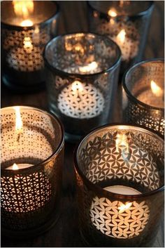 Tea Light Holders: Remodelista #anthropologie #pintowin