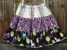 Pet Deer....Twirl Skirt.