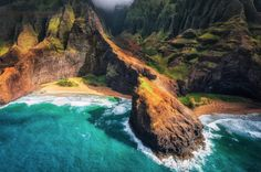 photos bymo mark gvazdinskas from kauai's na pali coast