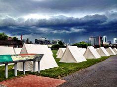 The Encampment -   Tweeted by @fortyork