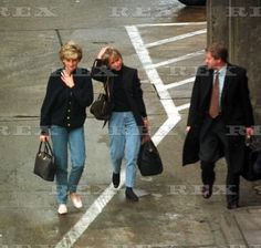 Diana herself escaped the UK just before the New Year holidays on Wednesday December 27th, and was pictured at Heathrow airport, with her friend Victoria Mendham.