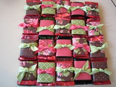 Ghirardelli favors by smowteach - Cards and Paper Crafts at Splitcoaststampers