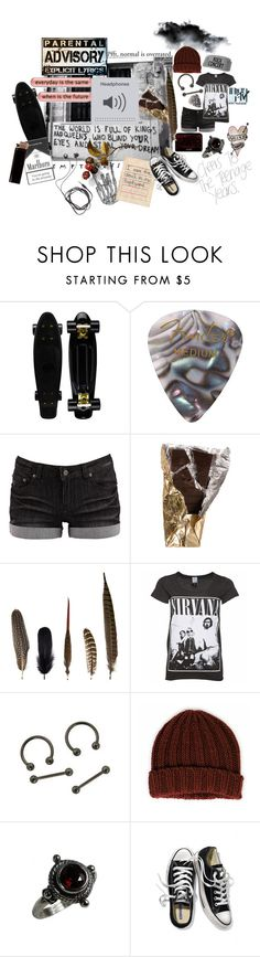 """Skater"" by causingpanicatthetheater on Polyvore featuring Pieces, Mineheart, Wigwam, GAS Jeans, Victoria's Secret and Diane Von Furstenberg"