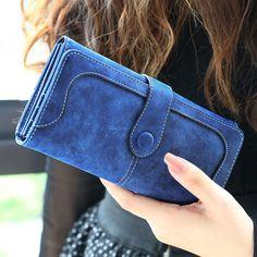 Leather Wallet Women Luxury Brand Coin Purse Bag Female Clutch Bag Handbags Dollar Price Long Wallets Carteira
