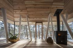 5 Controversial Home Upgrades That Nobody Actually Ever Uses - Adjourna Fukushima, Architecture Design, Amazing Architecture, Contemporary Architecture, Farmhouse Design, Rustic Farmhouse, Project Life, Farmhouse Side Table, Wooden Cabins