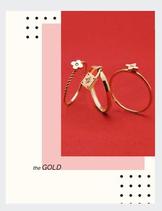 jewelry,gold,rings,love,red,setup,art director