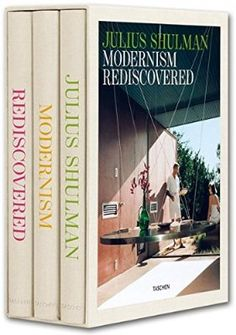 Julius Shulman Modernism Rediscovered 3 Vol Architecture Magazines John Waters