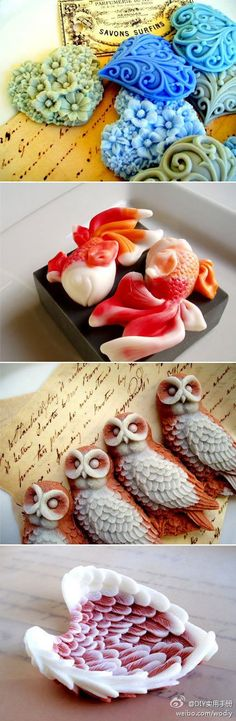 Halloween Series Bat Owl Spider Twig Silicone Fondant Cake Molds Kitchen Tool Q