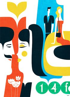 illustration / 2012 by iv orlov, via Behance
