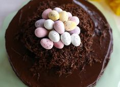 Sweet Ideas For Easter Baking Recipes - Great British Chefs Chocolate Easter Cake, Chocolate Buttercream, Layer Cake Recipes, Layer Cakes, Great British Chefs, Thermomix Desserts, New Cake, Recipe Sites, Piece Of Cakes