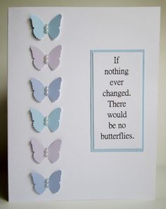 Paint chip butterflies II by mandianna - Cards and Paper Crafts at Splitcoaststampers