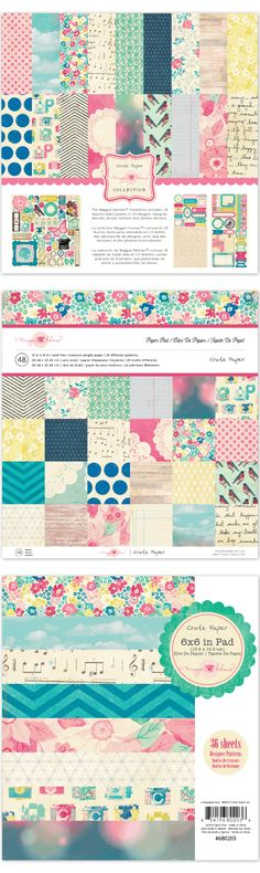 Crate Paper: Maggie Holmes collection / nice, gotta get this one Kelly :)