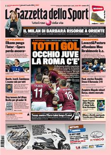 La Gazzetta dello Sport + Ed.Locali – 03.04.2014