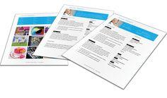 Representatief Portfolio format 3207 - MooiCV Portfolio Format, Cv Template, Templates, Cv Format, Microsoft, Stencils, Resume Format, Resume Templates, Vorlage