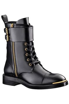 *sigh* So, I am torn on this one. It is so clean, quite lovely. But I feel like it is only a designer's idea of a biker boot, and that bothers me. This is not meant to be worn on a motorcycle in any respect. Louis Vuitton - Biker boot- 2013: