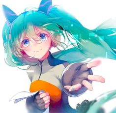 comet_(teamon) hatsune_miku odds_&_ends_(vocaloid) vocaloid Manga Art, Anime Manga, Anime Art, Noragami, Neko, Chibi, Kaai Yuki, Vocaloid Characters, Miku Chan
