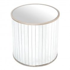 T30433-00-Tambour-Side-Table-rentals-Mirror