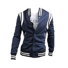 Herren Baseball Trainingsjacke Casual Hoodie Sweatshirt Pulli Top Jacke Pullover (46,navy) Fashion Season http://www.amazon.de/dp/B00N2I7KC8/ref=cm_sw_r_pi_dp_ZCdbub0SP8F8V
