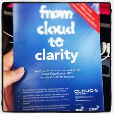 """""""Ticket which everyone should have received! Hope it was informative and interesting for Cloud Computing, Ticket, January, Europe, Clouds, Twitter, Business, Books, Inspiration"""