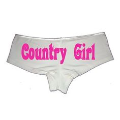 Sexy Girl Rock Country Girl boy short panties at Amazon Women's Clothing store Cute Party Outfits, Panty Party, Underwear Organization, Sleepwear Women, Boy Shorts, Country Girls, Bikini Bottoms, Sexy Women, Amazon