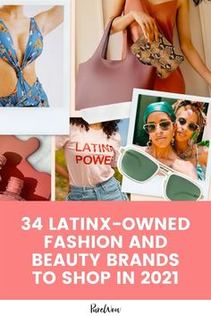 Here are 34 Latinx-owned fashion and beauty brands we are supporting and buying from during Latinx Heritage Month. Differin Gel, Heritage Month, Beauty Review, City Chic, Face Wash, Go Shopping, Beauty Products, Fashion Beauty, Fashion Photography