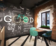 Cafe in Minsk, Belarus on Behance