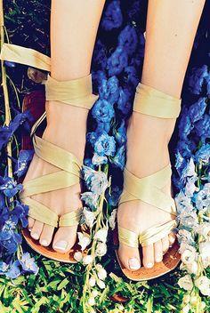 Flat Wedding Shoes for Beach Weddings...Jennifer Newcomb :)
