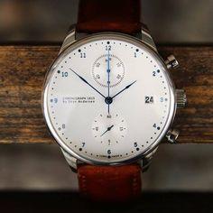 Time - Skov Andersen 1815 Chronograph.