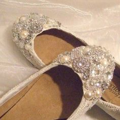 Flat Cinderella shoes