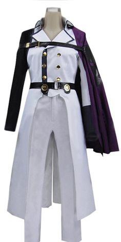 Onecos Anime Seraph of the End Crowley Eusford Cosplay Costume -- Check this awesome product by going to the link at the image.