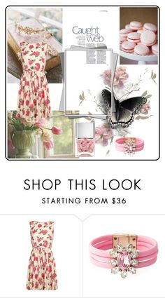 """Floral taking over fashion x"" by xpinkplaymatex ❤ liked on Polyvore featuring Lipsy and Nails Inc."