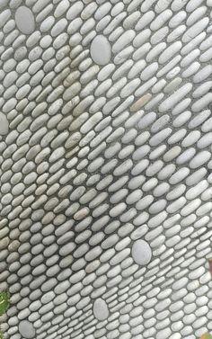 Pebble mosaics by John Botica.