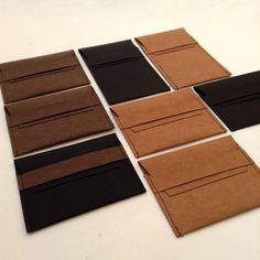 Card case : Kraft paper business card case/wallet kraft paper bag/money bag/small bag