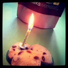 Happy Birthday Kekswerkstatt! Wir werden 1 Jahr!