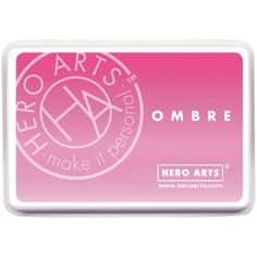 Encreur ombré Pink to red Hero Arts - Inspiration Création