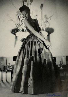 Gilbert Adrian gown, 1948.
