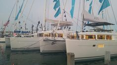 Lagoon 450 and 560 S2 Strictly Sail Miami Boat Show 2015 caroline.laviolette@catamarans.com