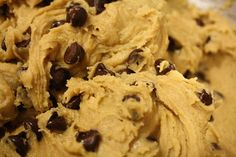 Chocolate chip cookie dough dip. Seriously.