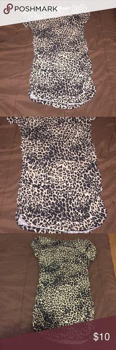 Women's leopard mini dress, Women's leopard mini dress. Size L Dresses Mini