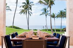 Inside an Oceanfront Hawaiian Home with Natural Accents