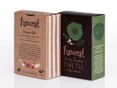 || harvest fine tea :: by Tonje Holand and Ingrid Reithaug of Darling Clementine :: via the dieline