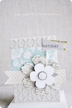 another gorgeous birthday card by keisha campbell