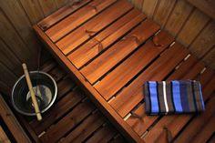 Holzverkleidung für Sauna. #holzverkleidung #sauna Sauna, Home, Wooden Panelling, Interior Home Decoration, Ad Home, Homes, Haus, Houses